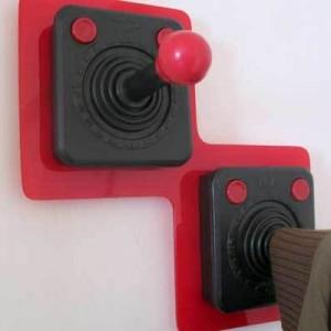 Atari 2600 Controller Coat Hangers