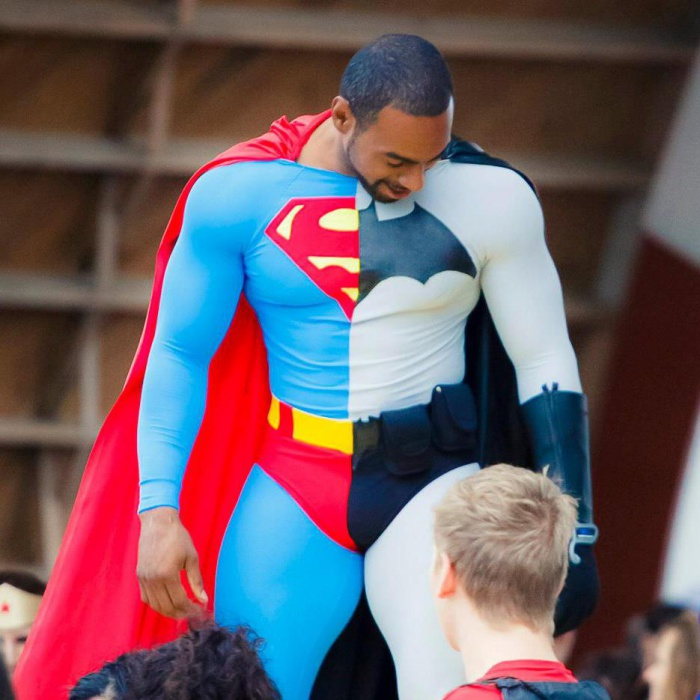 Batman v Superman Cosplay