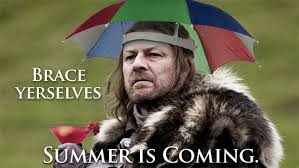 Summer is Coming for Ed Stark