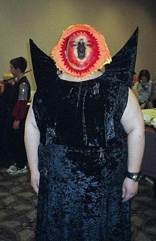 Eye of Sauron Cosplay
