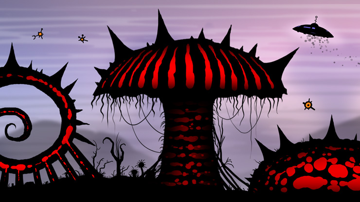 Insanely Twisted Shadow Planet video game