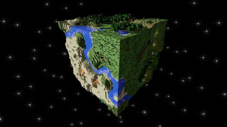 Minecraft Planet