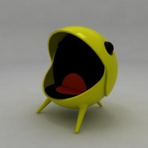 Pacman Egg Chair