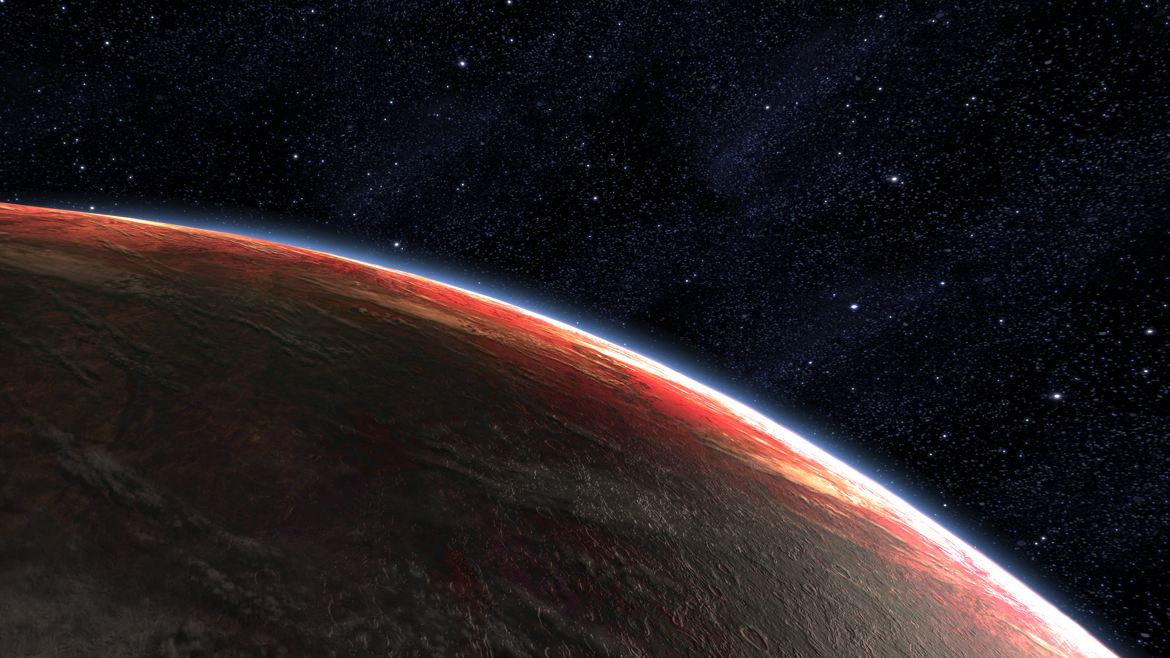 Planet Camaron from Mass Effect