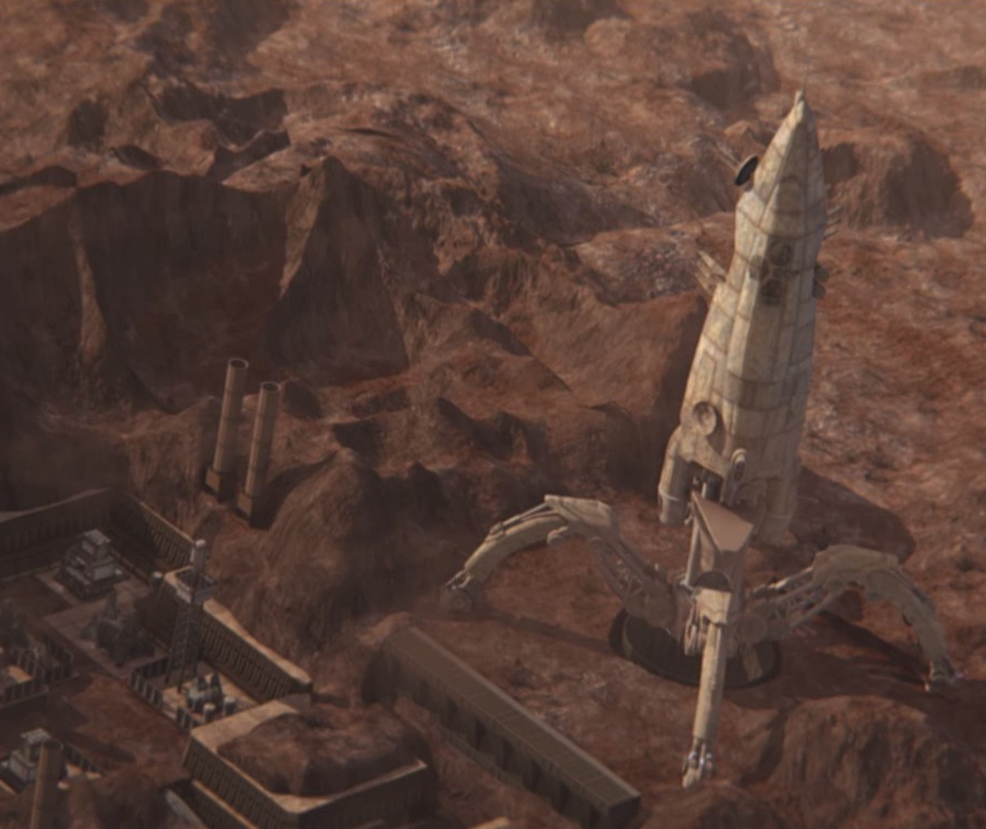 Planet Mars from Red Faction