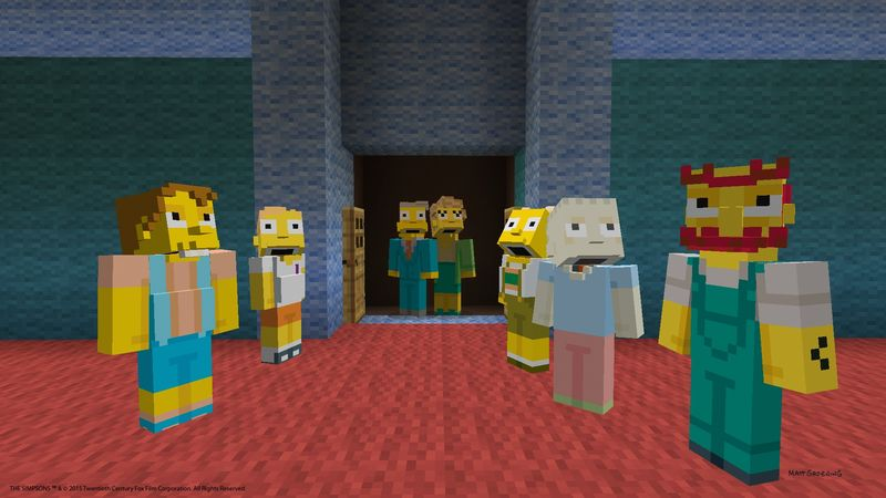 Simpsons in Minecraft (3)