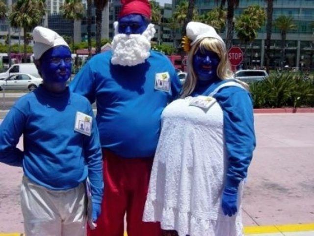 Smurf Cosplay