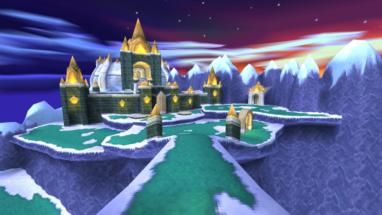 Winter Tundra from Spyro 2