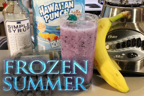 Disney's Frozen Mocktail