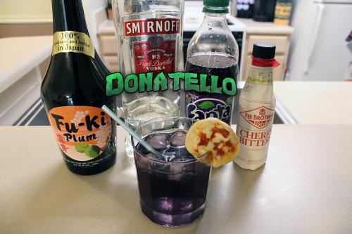 Donatello (TMNT) Cocktail