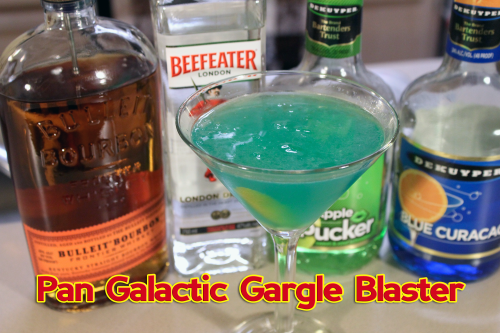 Hitchhiker's Guide to the Galaxy Cocktail