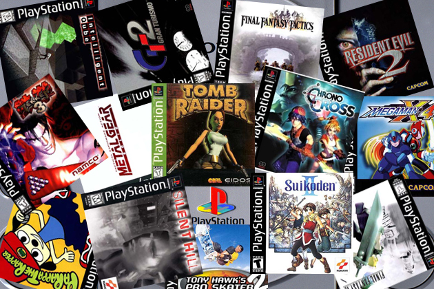 PlayStation One Game Selection