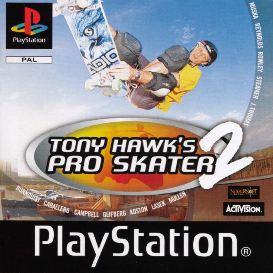 Tony Hawks Pro Skater 2 PS1