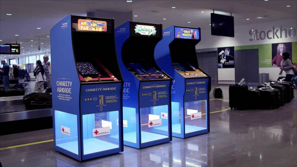 Charity Arcade Machine