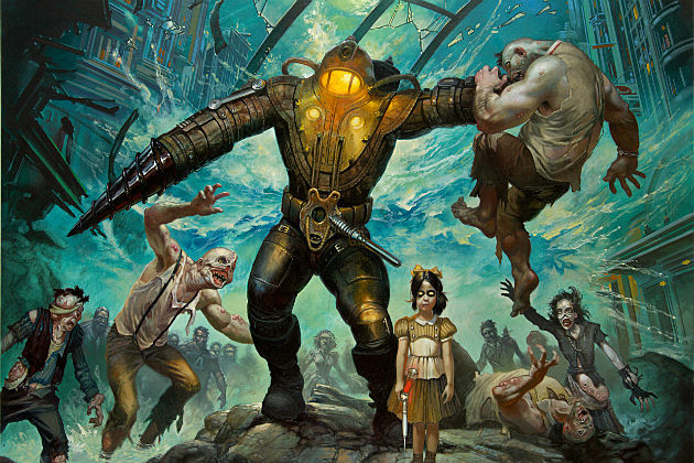 Big Daddy & Little Sister from BioShock 2