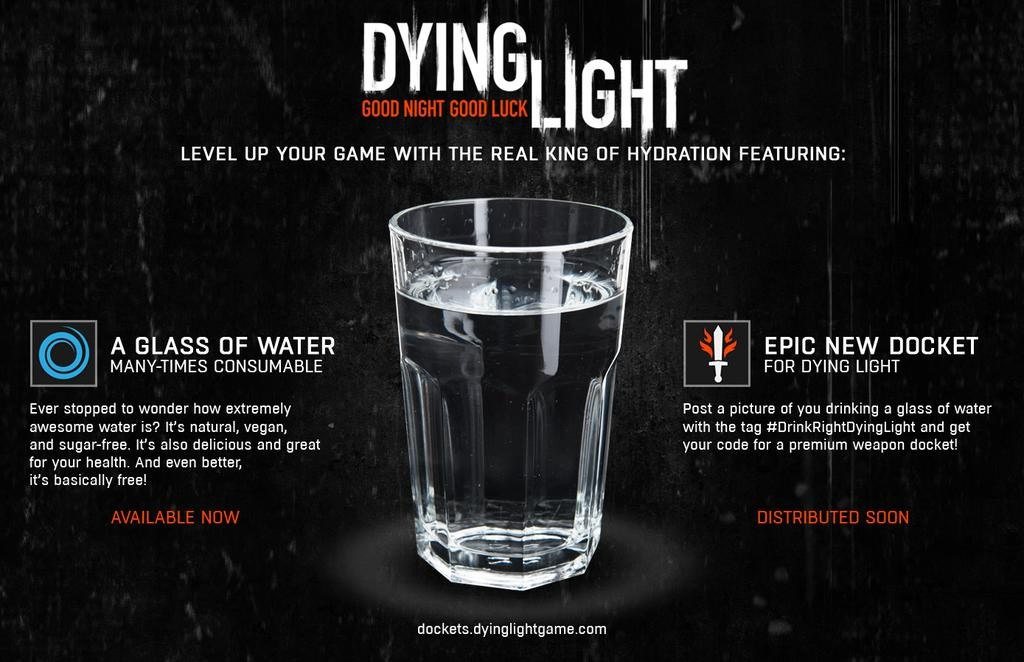 Drink Right Dying Light
