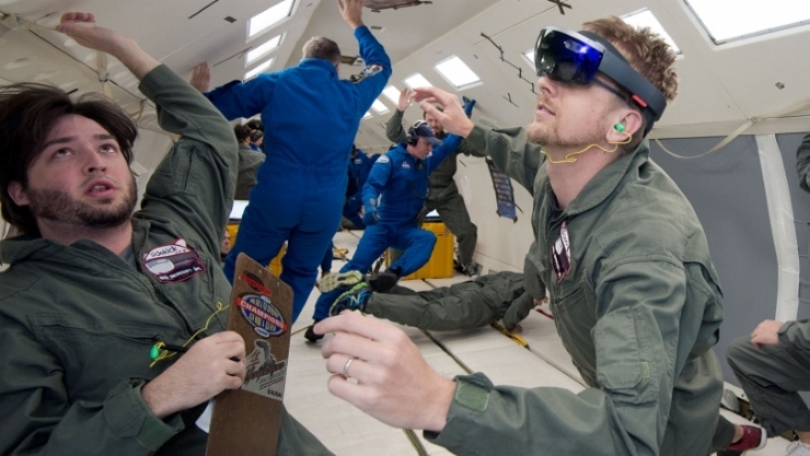 HoloLens in outer space explodes on launch