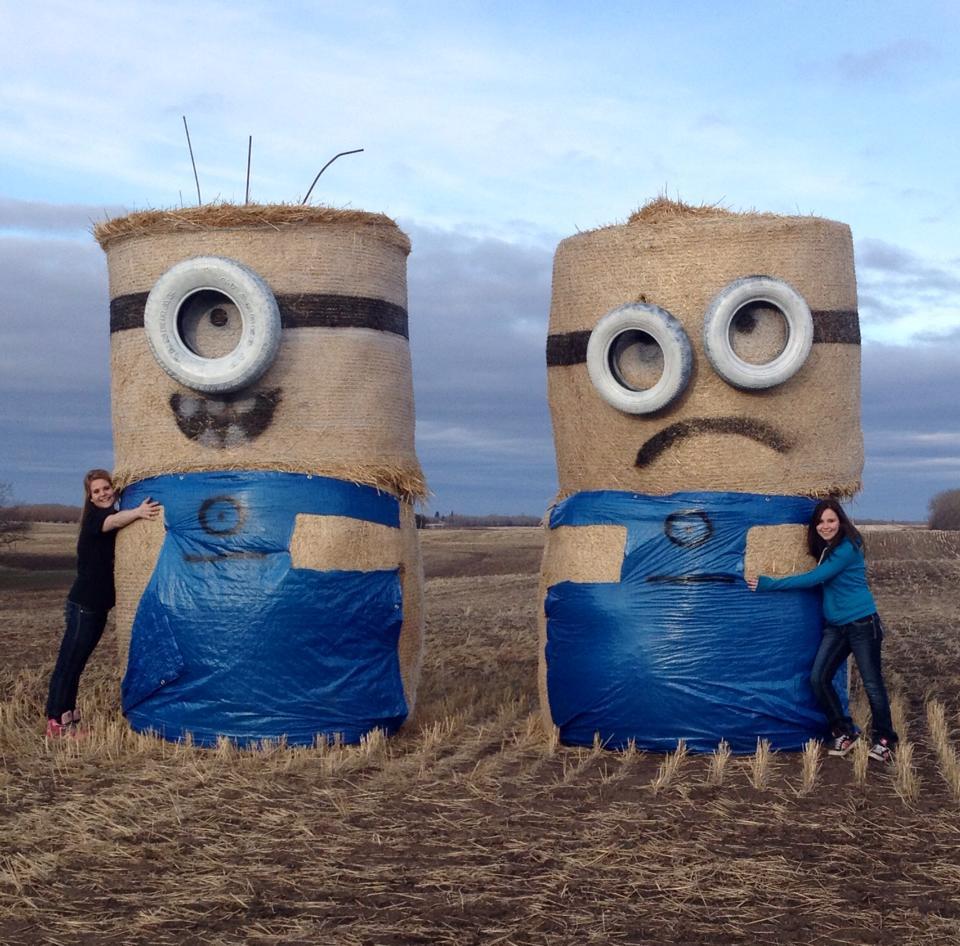 Happy & sad Minions