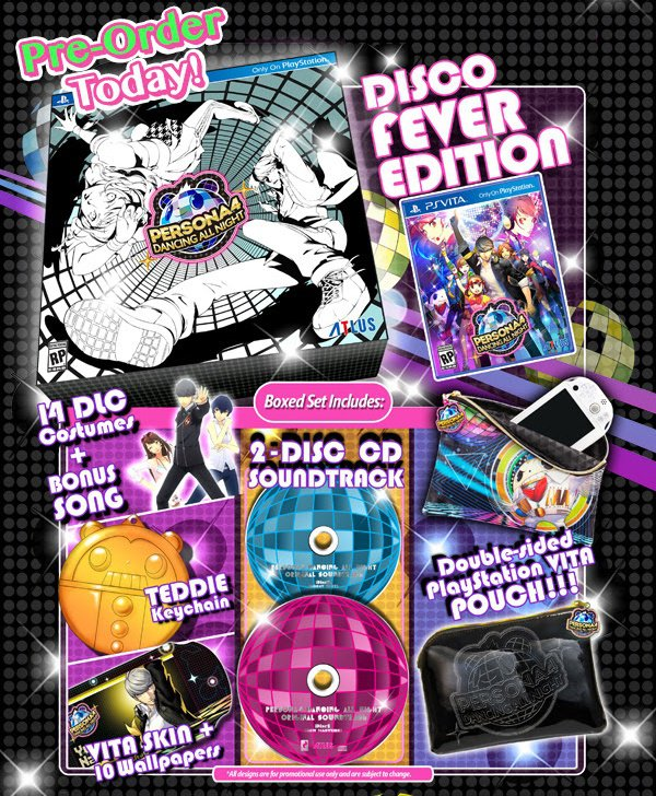 Persona 4 Disco Fever Special Edition