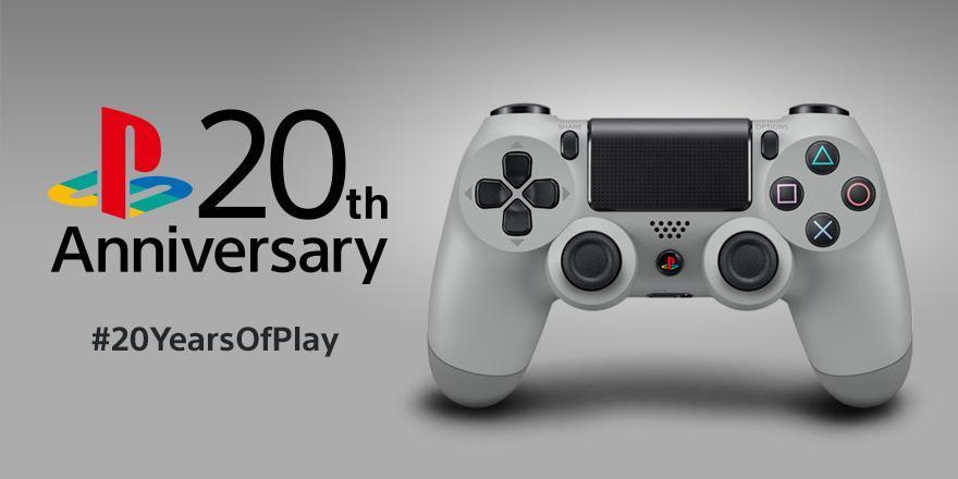 PlayStation 20th Anniversary Dulashock 4