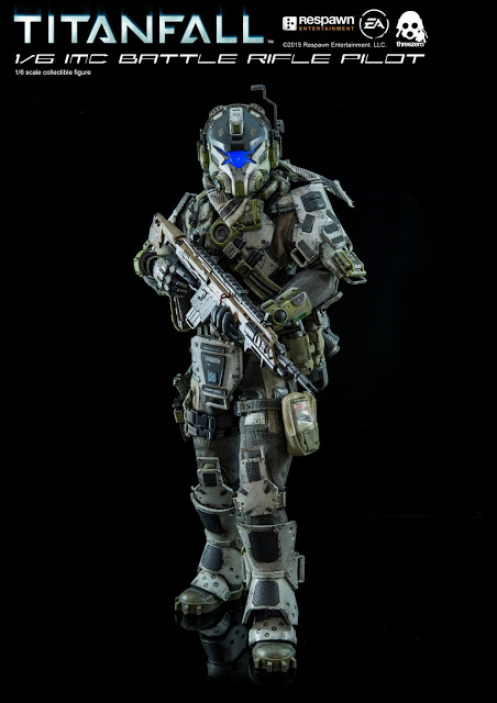 IMC Battle Rifle Pilot Collectable