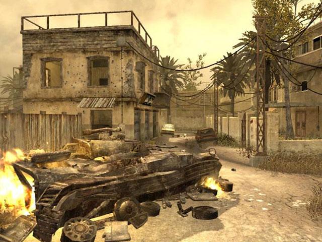 Modern Warfare Map