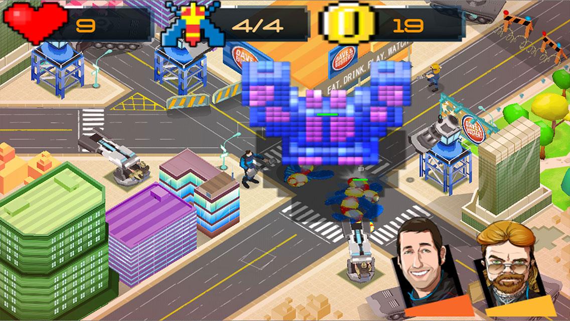 Pixels Defense screenshot