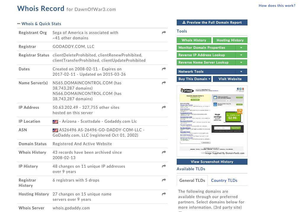 Sega registers Warhammer 40000 - Dawn of War 3 Domain