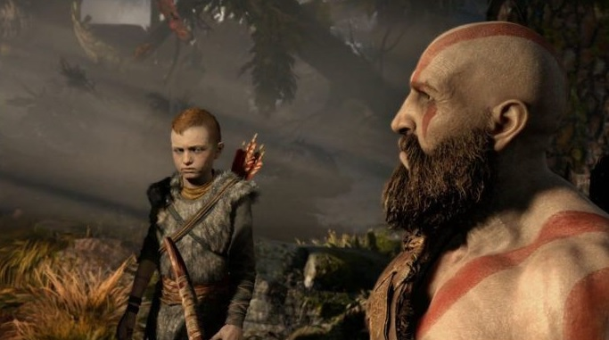 God of War on PlayStation 4, New PlayStation 4 release at E3.