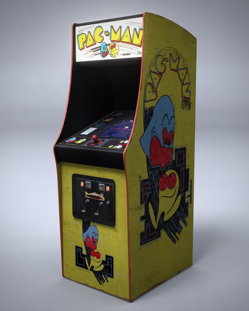 pac-man, arcade, retro