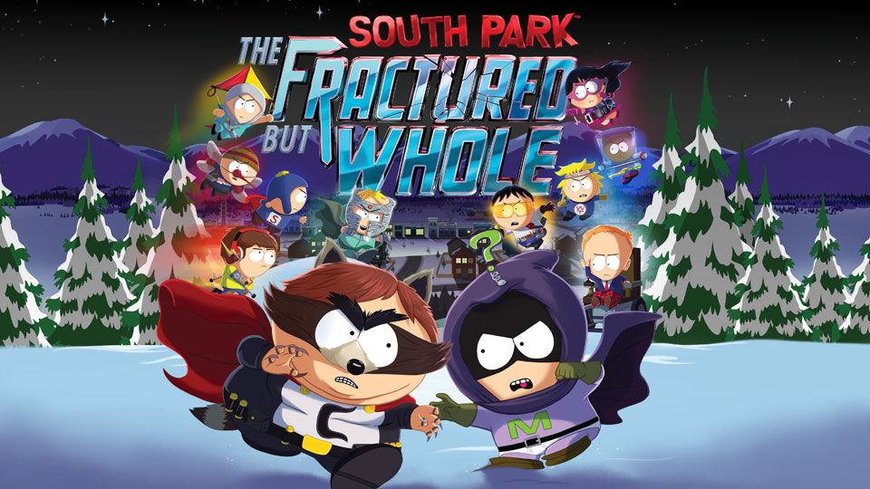 South Park: The Fractured Butt Whole. Produced by Ubisoft and available on Xbox One, PS4 and PC