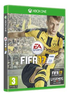 Marco Reus Fifa 17 Cover