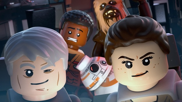 Lego Star Wars: The force Awakens on PlayStation 4 and Xbox One