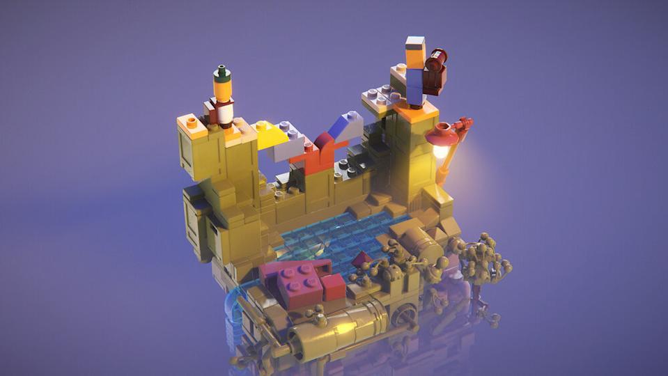 lego builder journey
