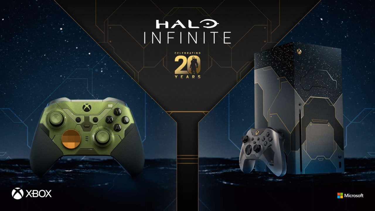 Halo Limited Edition Console with Halo Infinite Elite 2 Controller
