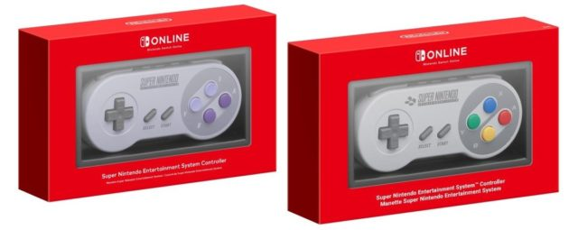 Image of wireless SNES controllers