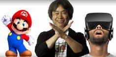 Shigeru Miyamoto Thinks VR 'Doesn't Really Fit' Mario.