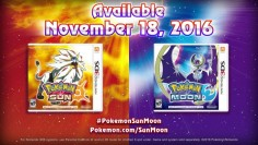 Pokémon Sun & Moon Release Date Confirmed
